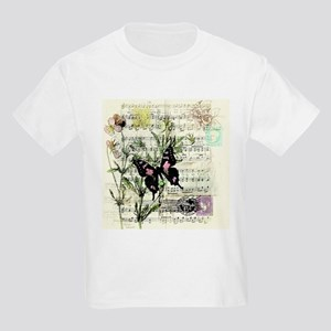 Pansies and music T-Shirt