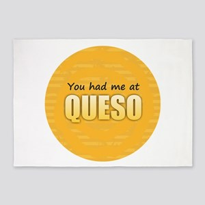 You Had Me at Queso 5'x7'Area Rug