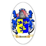 Hamnett Sticker (Oval 50 pk)