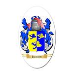 Hamnett 35x21 Oval Wall Decal