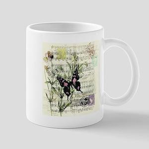 Pansies and music Mugs