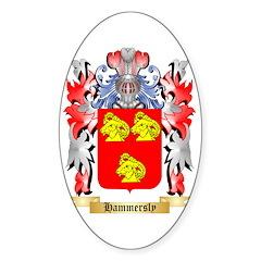 Hammersly Sticker (Oval)