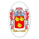 Hammersly Sticker (Oval 50 pk)