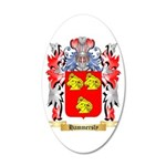 Hammersly 20x12 Oval Wall Decal