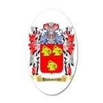Hammersly 35x21 Oval Wall Decal