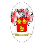 Hammersley Sticker (Oval 50 pk)