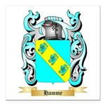Hamme Square Car Magnet 3