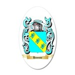 Hamme 20x12 Oval Wall Decal