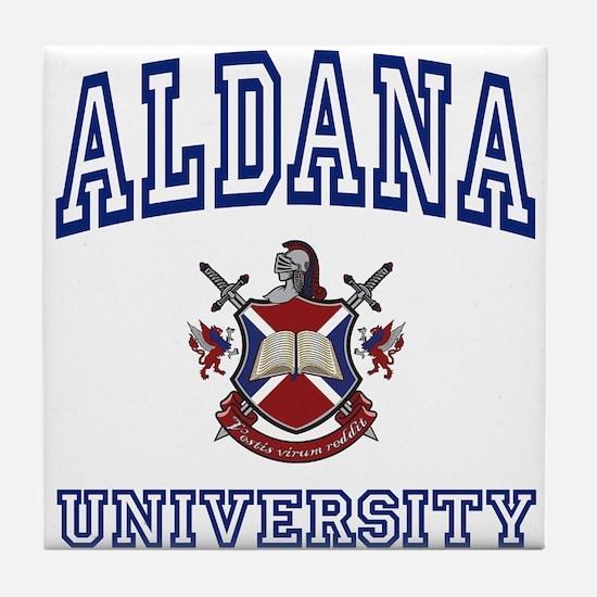 ALDANA University Tile Coaster