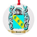 Hamm Round Ornament