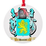 Hamlett Round Ornament