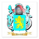 Hamlett Square Car Magnet 3