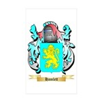 Hamlett Sticker (Rectangle 10 pk)