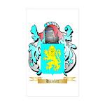 Hamlett Sticker (Rectangle 50 pk)