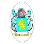 Hamlett Sticker (Oval 50 pk)