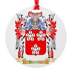 Hamilton Round Ornament