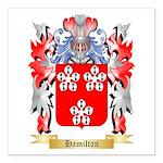 Hamilton Square Car Magnet 3