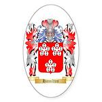 Hamilton Sticker (Oval 50 pk)