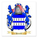 Hamill Square Car Magnet 3