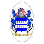 Hamill Sticker (Oval 50 pk)