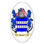 Hamil Sticker (Oval)