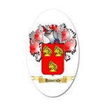 Hamersly 20x12 Oval Wall Decal
