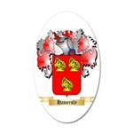Hamersly 35x21 Oval Wall Decal