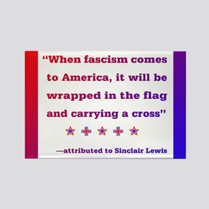When fascism comes to America Magnets
