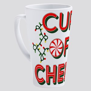Cup of Cheer 17 oz Latte Mug