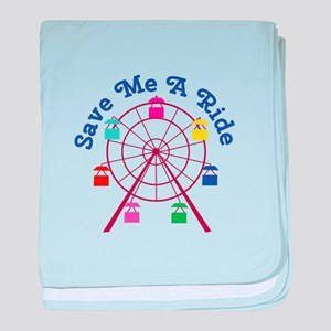 A Ride baby blanket