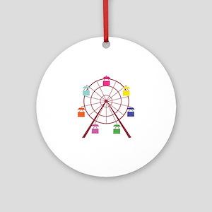 Ferris Wheel Ornament (Round)