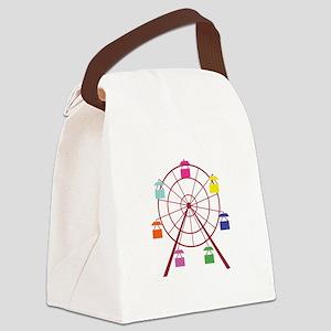 Ferris Wheel Canvas Lunch Bag