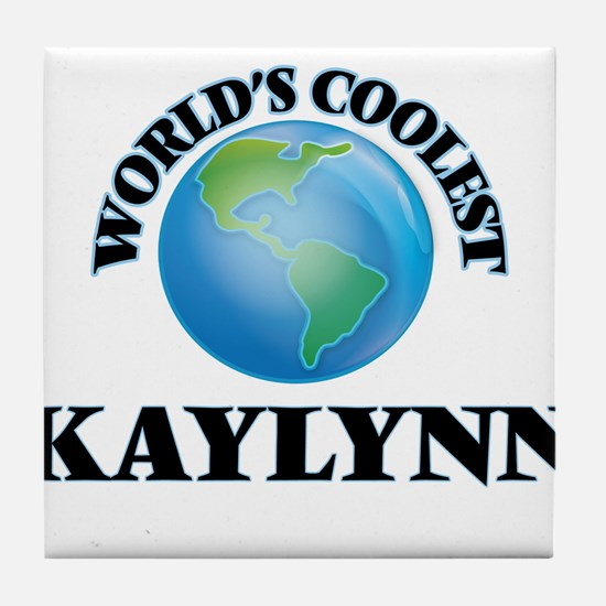 World's Coolest Kaylynn Tile Coaster