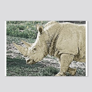 wc-rhino-01 Postcards (Package of 8)