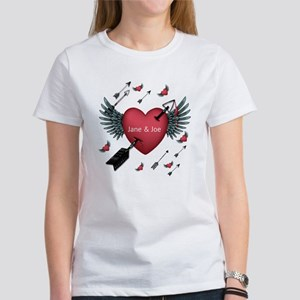 Shot Through The Heart Women's T-Shirt