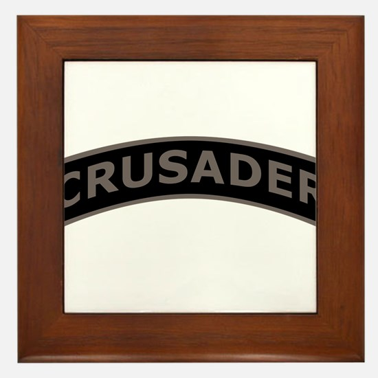 Cute Crusade Framed Tile