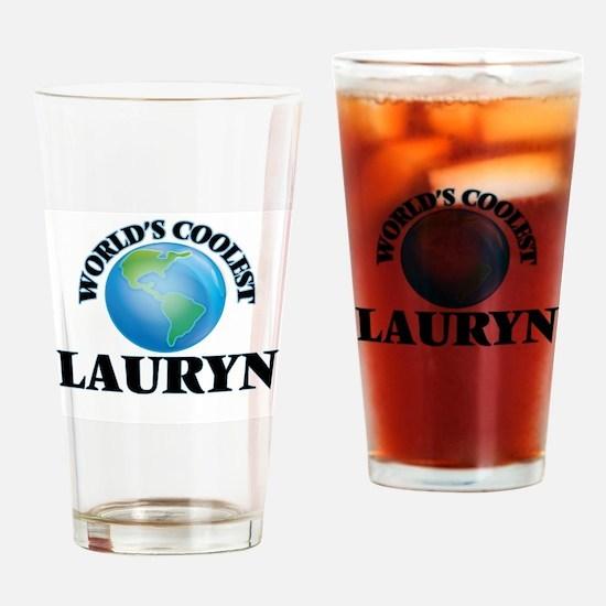 World's Coolest Lauryn Drinking Glass
