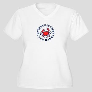 Deadliest Job Women's Plus Size V-Neck T-Shirt
