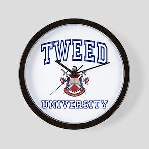 TWEED University Wall Clock