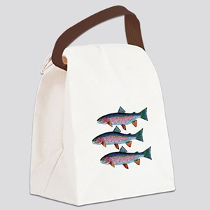 SCHOOLING TIMES Canvas Lunch Bag