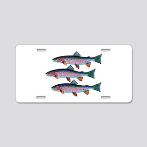 SCHOOLING TIMES Aluminum License Plate