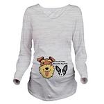 DGMDP Logo Long Sleeve Maternity T-Shirt