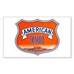 American Desert Rectangle Sticker