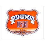 American Desert Small Poster