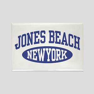 Jones Beach New York Rectangle Magnet