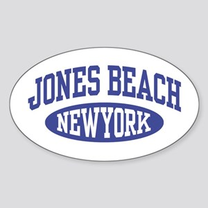 Jones Beach New York Sticker (Oval)