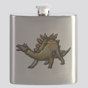 Scaly Rainbow Dinosaur Flask