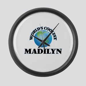 World's Coolest Madilyn Large Wall Clock