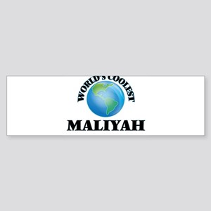 World's Coolest Maliyah Bumper Sticker