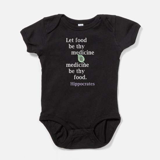 Let food be thy medicine Baby Bodysuit